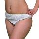 10 Eco-Friendly Disposable Woman's PANTIES in Bamboo Fiber, Comfortable and Practical