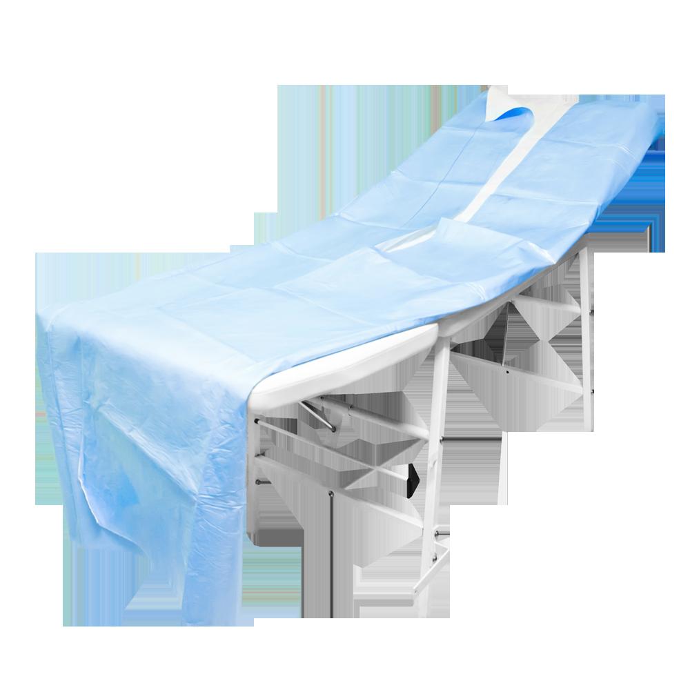 Coperta Termica Per Lettino Da Massaggio.25 Coperte Isotermica Monouso In Misto Viscosa E Polietilene 150x240cm