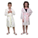 4 Eco-friendly disposable BATHROBES for Kids in Biodegradable Viscose