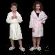 4 PEIGNOIRS DE BAIN écologique Jetable pour enfants en Viscose Biodégradable