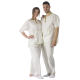 4 Eco-friendly Disposable Unisex PYJAMAS, Top and Pants, different sizes