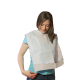 900 Disposable Bibs with a pocket made of Pure Cellulose and Polyethylene